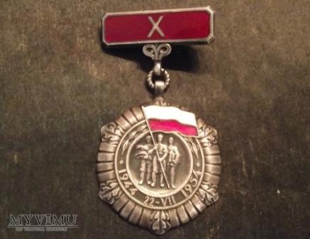 Medal z okresu PRL