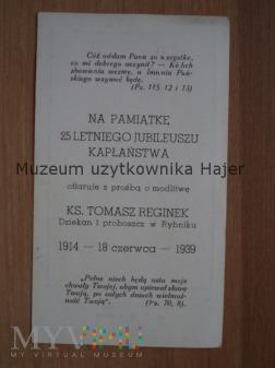 Reginek Tomasz ksiądz dziekan proboszcz 1939