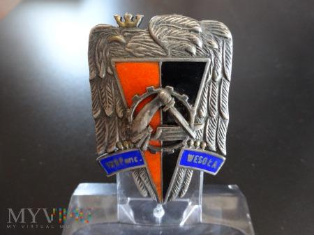 Numerowana 1 Warszawska Brygada Pancerna Ag925