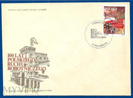 Duże zdjęcie 100 Lat Polskiego Ruchu Robotniczego-3.9.1982