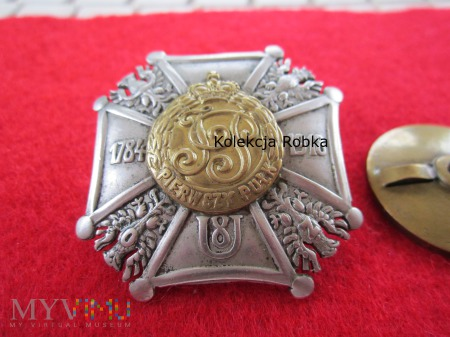 Odznaka 8 Pułku Ułanów Księcia J. Poniatowskiego
