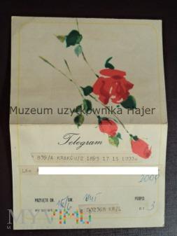 Wickenhagen . M . - Telegram życzenia urodzinowe