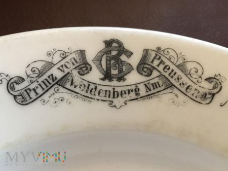 Talerz do zupy Prinz von Preussen, Woldenberg Nm