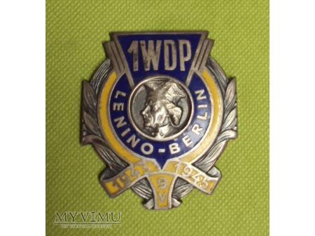 Odznaka 1 Warszawskiej Dywizji Zmechanizowanej