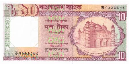 Bangladesz - 10 taka (1996)