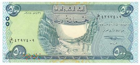 Irak - 500 dinarów (2015)