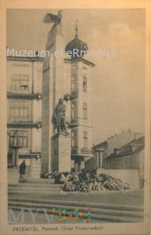 Pomnik Orląt Przemyskich. Deutsch Przemyśl 1940r.