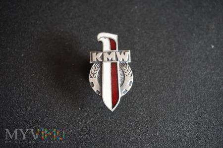 Duże zdjęcie Odznaka Koła Młodzieży Wojskowej - wzór 1958r