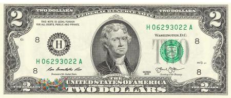 Stany Zjednoczone - 2 dolary (2013)