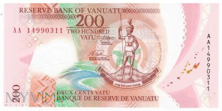 Vanuatu - 200 vatu (2014)
