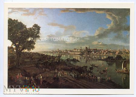 W-wa - Wisła - widok z Pragi - Canaletto