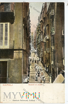 Neapol - Gradoni di Chiaia - 1903