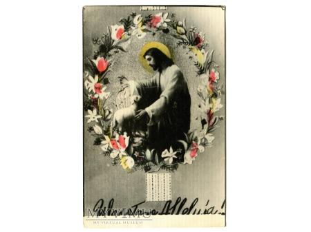 Wesołego ALLELUJA Jezus Chrystus Wielkanoc PRL