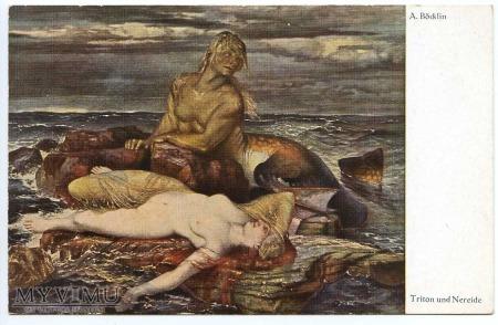 A. Bocklin - Tryton i Nereida
