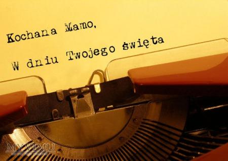 'maszyna do pisania''