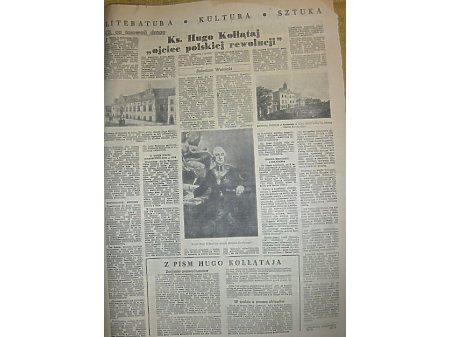 TRYBUNA WOLNOŚCI nr.16 20-26.04.1950 cd.