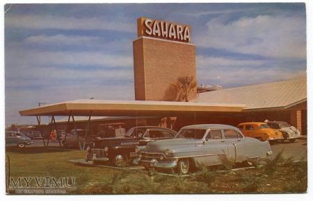 Hotel Sahara Las Vegas Nevada USA Postcard