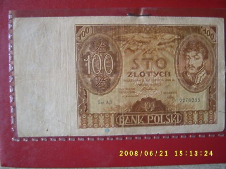 100 złotych.