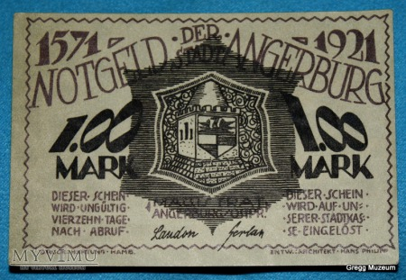 1 Mark 1921 (Notgeld)