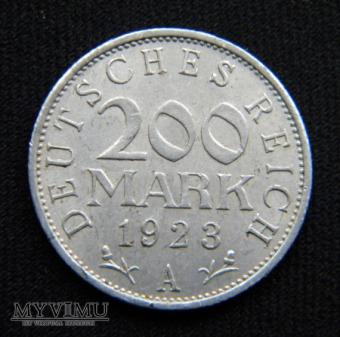 Duże zdjęcie 200 Mark 1923