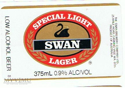 swan special light lager