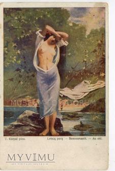 Korpal - Letnią porą nad wodą, żaba, ważka....