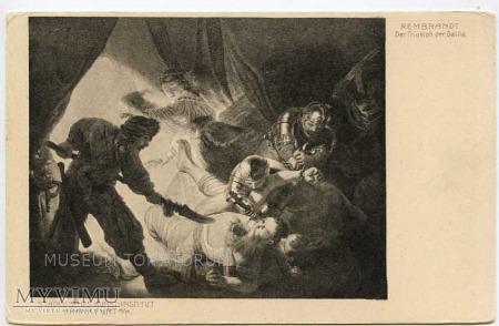 Rembrandt - Samson i Dalila