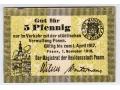 01.11.1916 - 5 Pfennig - Poznań