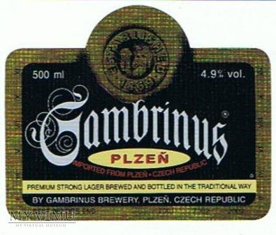 gambrinus plzen