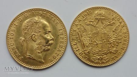 Austria 1 dukat 1915