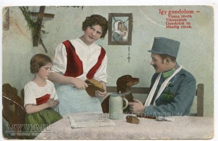 Dachshund - Jamnik towarzysz człowieka - 1916
