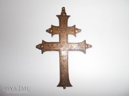"""h.Topór - krzyż chrześcijański tzw """"choleryczny"""""""