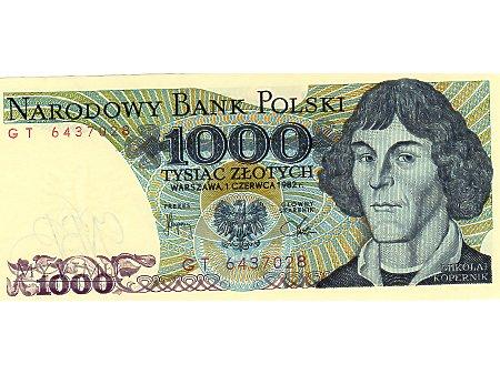 1000 Złotych 01.06.1982 r.