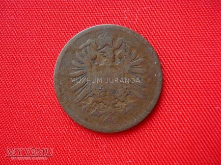 2 pfennig 1874 rok