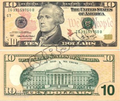 Banknot $ 10.00 2006 r