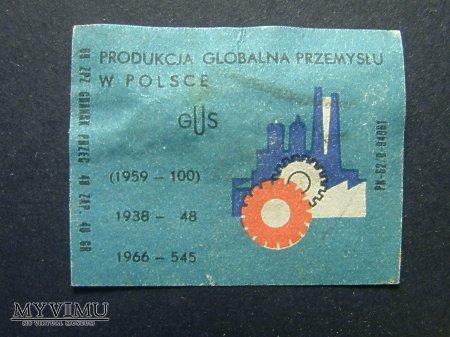 Etykieta - Produkcja globalna przemysłu w Polsce