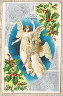 Wesołych Świąt dwa anioły