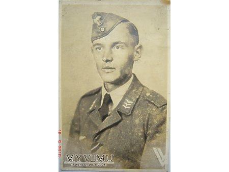 Duże zdjęcie Portret żołnierza Luftwaffe