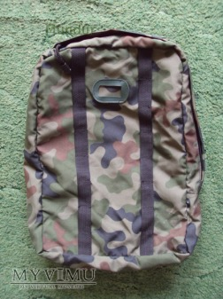 Plecak patrolowy w kamuflażu leśnym