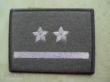Oznaka stopnia - podporucznik SG