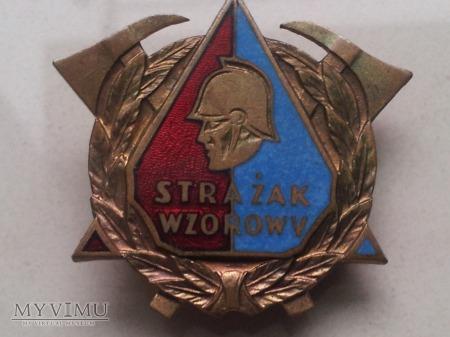 Wzorowy Strażak - wersja po 1989 roku.
