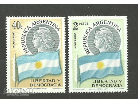 Duże zdjęcie Argentyńska flaga