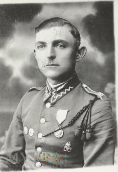 Wachmistrz Stanisław Włosik z 25 Pułku Ułanów W.