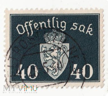 Norwegia 1941 Offentlig sak 40