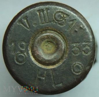 Łuska 8x58 R Krag V.III.31 33 HL 19