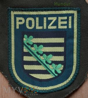Emblemat Polizei Sachsen