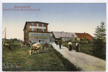 Karkonosze - Neue Schlesische Baude - pocz. XX w.