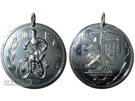 Duże zdjęcie VIII Rajd Motorowy Metalowców Bydgoszcz medal 1971