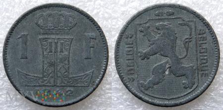 Belgia, 1942, 1 Franc
