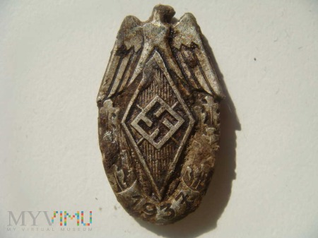wpinka Hitlerjugend 1937